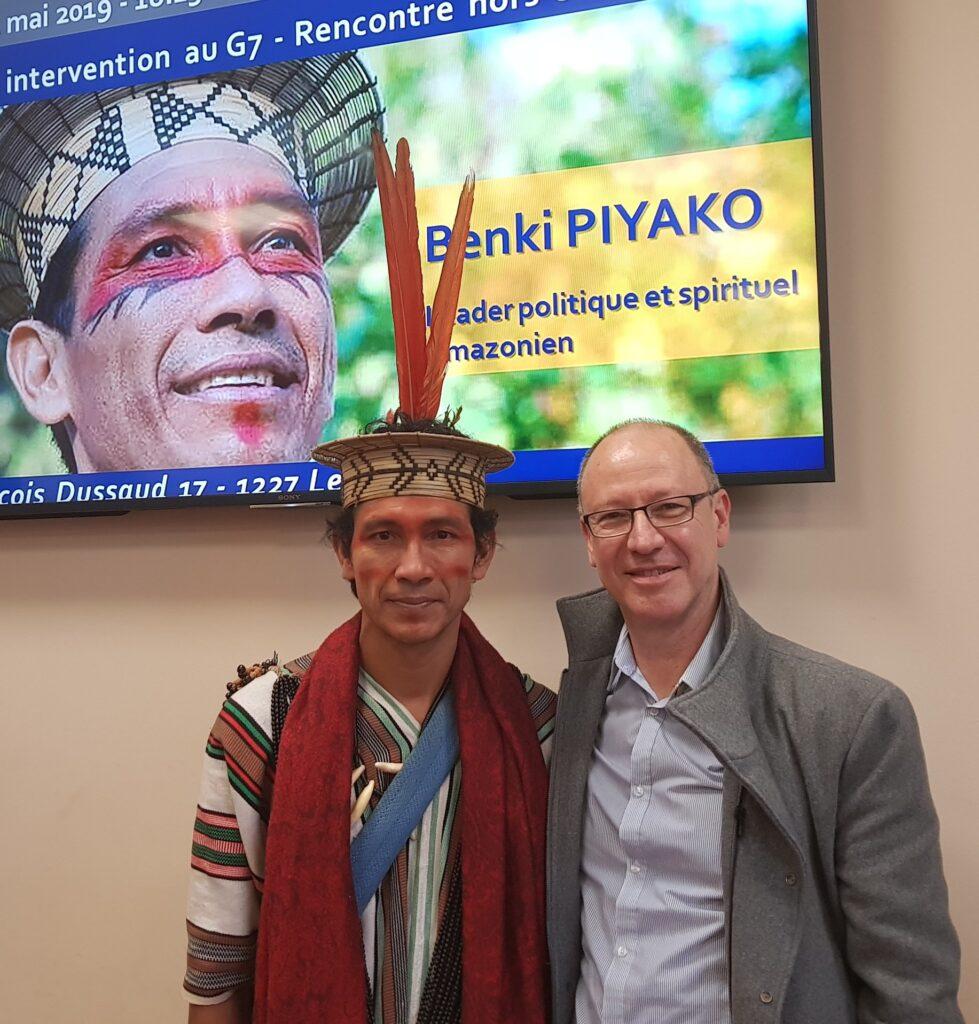 sylvere caron et Benki Piyako